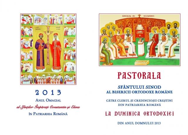 pastorala 2013 duminica ortodoxiei